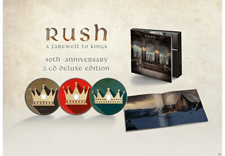 Rush - A Farewell To Kings (Deluxe 3CD)  - (CD)