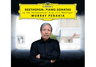 Perahia Murray - Beethoven: Piano Sonatas Hammerklavier & Moonlight  - (CD)