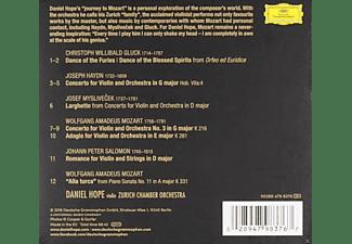 Daniel Hope, Zurich Chamber Orchestra - Journey To Mozart  - (CD)