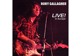 Rory Gallagher - Live! In Europe (Remastered 2011)  - (CD)