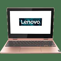 LENOVO Chromebook C340, Chromebook mit 11.6 Zoll Display, Celeron® Prozessor, 4 GB RAM, 64 GB eMMC, Intel UHD Grafik 600, Rosé