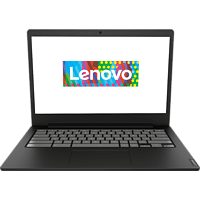 LENOVO Chromebook S340-14 Touch, Chromebook mit 14 Zoll Display Touchscreen, Celeron® Prozessor, 4 GB RAM, 64 GB eMMC, Intel UHD Grafik 600, Onyx Schwarz