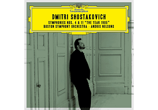 """Andris Nelsons, Boston Symphony Orchestra - Shostakovich Sinfonien 4 & 11 """"The Year 1905""""  - (CD)"""