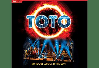 Toto - 40 TOURS AROUND THE SUN  - (CD + DVD Video)