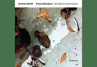 András Schiff - Franz Schubert: Sonatas & Impromtus  - (CD)