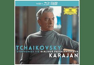 Herbert von Karajan, Berliner Philharmoniker - Tschaikowski-Sinfonien 1-6  - (CD + Blu-ray Audio)