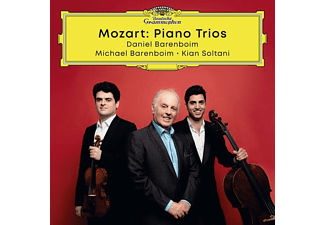Daniel Barenboim, Kian Soltani, Michael Barenboim - COMPLETE MOZART TRIOS  - (CD)