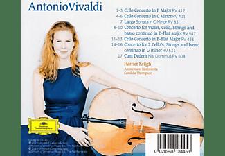 Harriet Krijgh, Amsterdam Sinfonietta - VIVALDI  - (CD)
