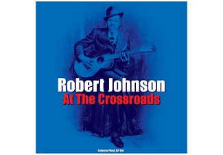 Robert Johnson - CROSS ROAD LUES-COLOURED-  - (Vinyl)