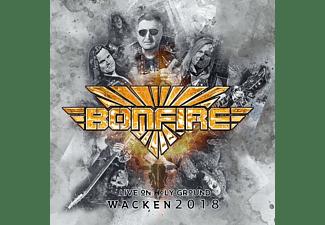 Bonfire - Live On Holy Ground-Wacken 2018  - (CD)