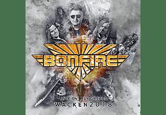 Bonfire - Live On Holy Ground-Wacken 2018 (Black Vinyl)  - (Vinyl)