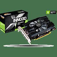 INNO3D GeForce GTX 1660 COMPACT 6GB (N16601-06D5-1521VA29) (NVIDIA, Grafikkarte)