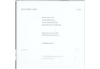 Keith Jarrett - Munich 2016  - (CD)