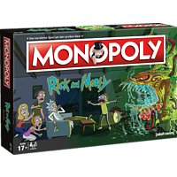 WINNING MOVES MONOPOLY - Rick and Morty Brettspiel, Mehrfarbig