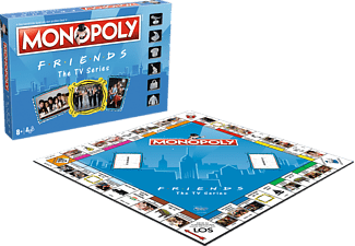 WINNING MOVES MONOPOLY – Friends Brettspiel Mehrfarbig