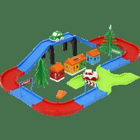 JAMARA KIDS Steckbahn Starter Set 37 Teile Steckbahn, Mehrfarbig