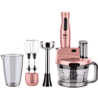 FAKIR 9195001 Mr Chef Quadro Rosie Stabmixer Rosé (425 Watt)