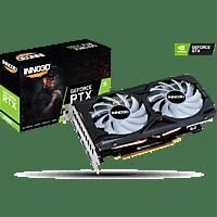 INNO3D GeForce RTX 2060 TWIN X2 OC RGB 6GB (N20602-06D6X-1710VA15L) (NVIDIA, Grafikkarte)