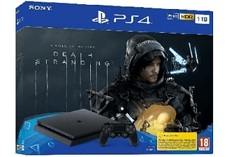 Consola - PS4 Slim de 1 TB + Death Stranding