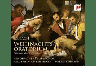 Jutta Böhnert, Rebecca Martin, Markus Schäfer, Thomas Laske, Deutsche Kammervirtuosen Berlin, Windsbacher Knabenchor - Weihnachtsoratorium  - (CD)