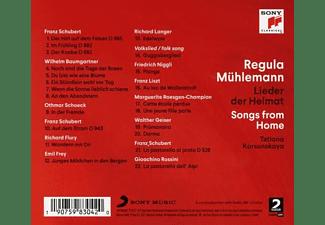 Regula Mühlemann, Tatiana Korsunskaya - Lieder der Heimat/Songs from Home  - (CD)