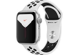 APPLE Watch Series 5 Nike+ 40mm wit aluminium / zwarte sportband