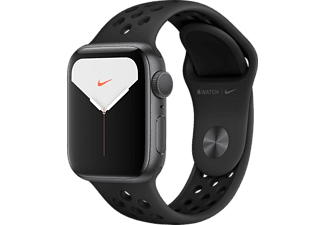 APPLE Watch Series 5 Nike+ 40mm spacegrijs aluminium / zwarte sportband