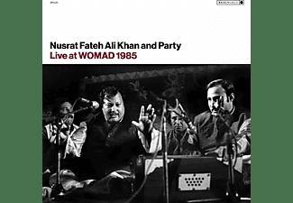 Nusrat Fateh Ali & Party Khan - Live At WOMAD 1985  - (Vinyl)
