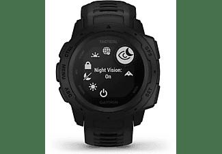 GARMIN Instinct Tactical Edition Smartwatch Faserverstärktes Polymer Silikon, S-L, Schwarz