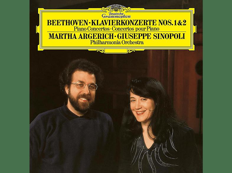 Martha Argerich, Giuseppe Sinopoli - BEETHOVEN: PIANO CONCERTOS NOS. 1 & [Vinyl]