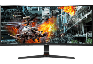 LG 34GL750-B Curved UltraGear 34 Zoll UFHD Gaming Monitor (5 ms Reaktionszeit, 144 Hz)