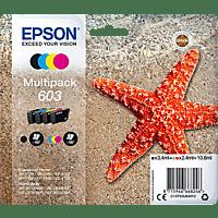 EPSON Original Seestern Schwarz, Cyan, Gelb, Magenta (C13T03U64010)