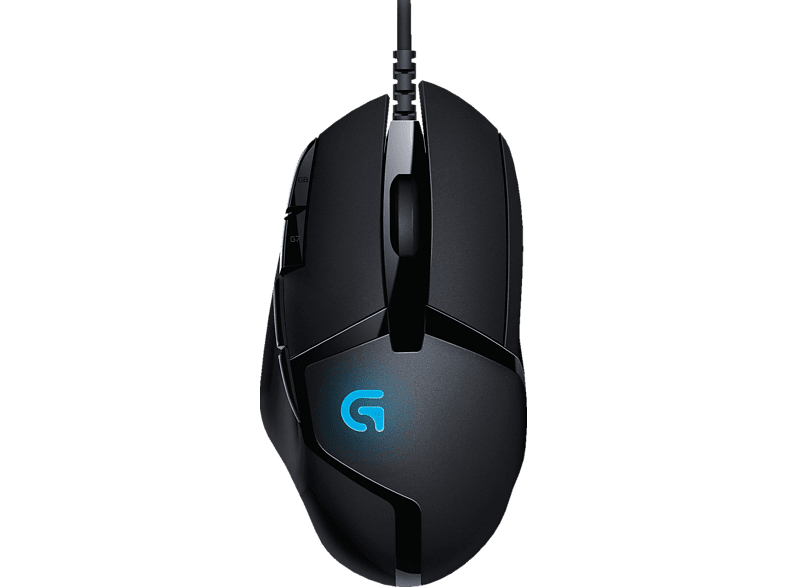 LOGITECH G402 Hyperion Fury Gaming Maus, Schwarz