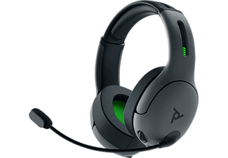 PDP LLC LVL 50 Wireless, Over-ear Headset Schwarz
