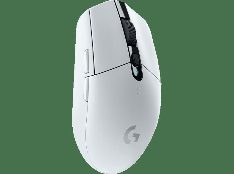LOGITECH G305 LIGHTSPEED Gaming Maus, Weiß