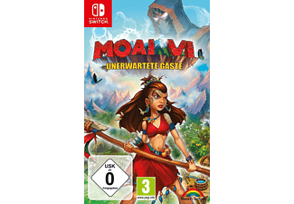 SW MOAI 6 UNERWARTETE GÄSTE - [Nintendo Switch]