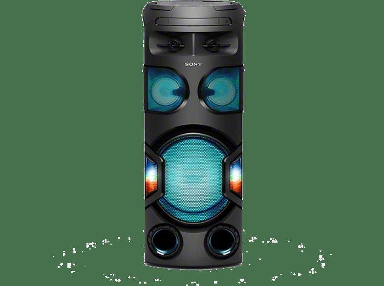 SONY MHC-V72D Wireless Party Chain Kompaktanlage Schwarz