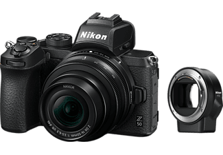 NIKON Hybride camera Z 50 + 16-50 mm + FTZ
