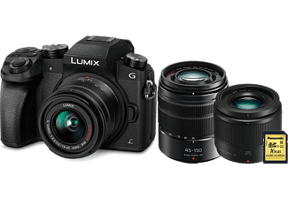 PANASONIC Hybride camera Lumix DMC-G7 Premium Kit