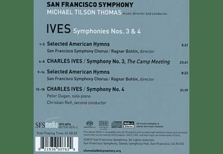 Michael Tilson Thomas, San Francisco Symphony - SYMPHONY NOS. 3 & 4-SACD-  - (SACD)