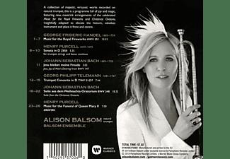 Alison Balsom, The Balsom Ensemble - Royal Fireworks  - (CD)