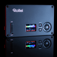 ROLLEI Lumen Pocket RGB, LED Licht, Schwarz