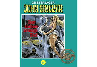 Sinclair John - Tonstudio Braun,Folge 92: Der siebenarmige Tod  - (CD)
