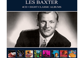 Les Baxter - EIGHT CLASSIC ALBUMS  - (CD)