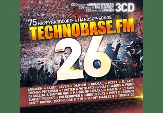 VARIOUS - TechnoBase.FM Vol.26  - (CD)