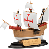 REVELL Model Set Santa Maria Kunststoffmodellbausatz, Mehrfarbig
