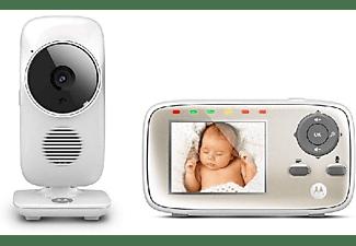 Vigilabebés -  Motorola MBP 483, Vigilabebés con Video Inalámbrico, Blanco