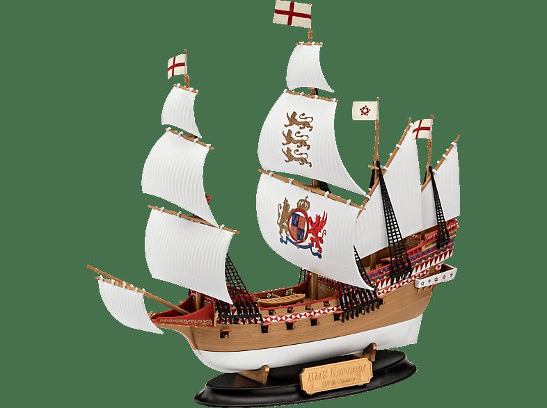 REVELL Model Set HMS Revenge Modellbausatz, Mehrfarbig