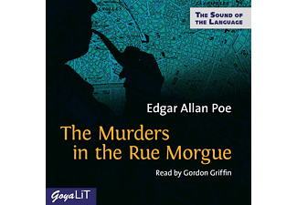 Edgar Allan Poe - The Murders In The Rue Morgue  - (CD)