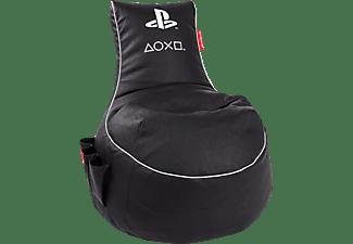 GAMEWAREZ Gaming Sitzsack, PlayStation, Limited Edition, schwarz, Gaming Sitzsack, Schwarz
